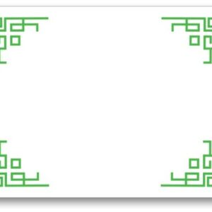 Chinese Corners Pad Block - Clover
