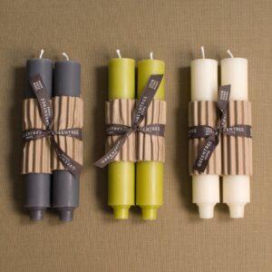 "9"" Column Taper Candle - Cream"