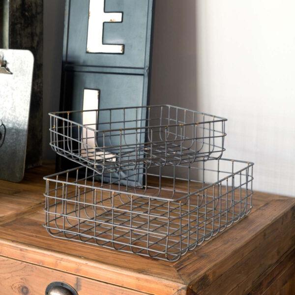 Nesting Wire Sorting Basket