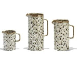 Katla Brown Speckled Pitchers