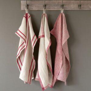 soft linen towel